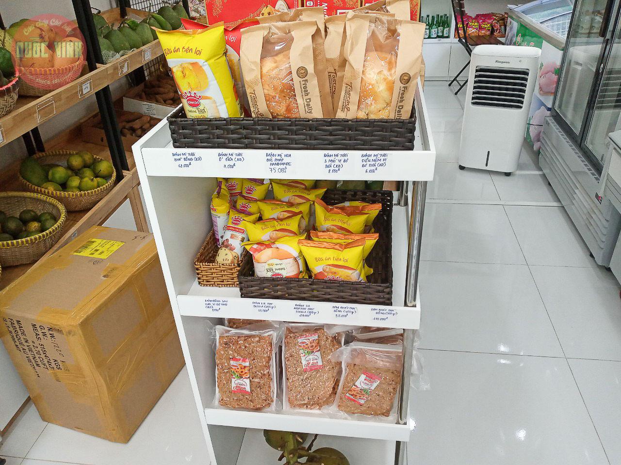 Cơm cháy chà bông Quốc Vinh tại Saigon Food Organic