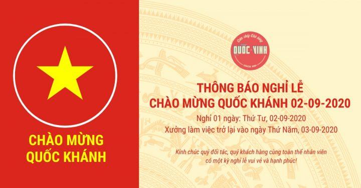 chào mừng Quốc Khánh 02-09-2020