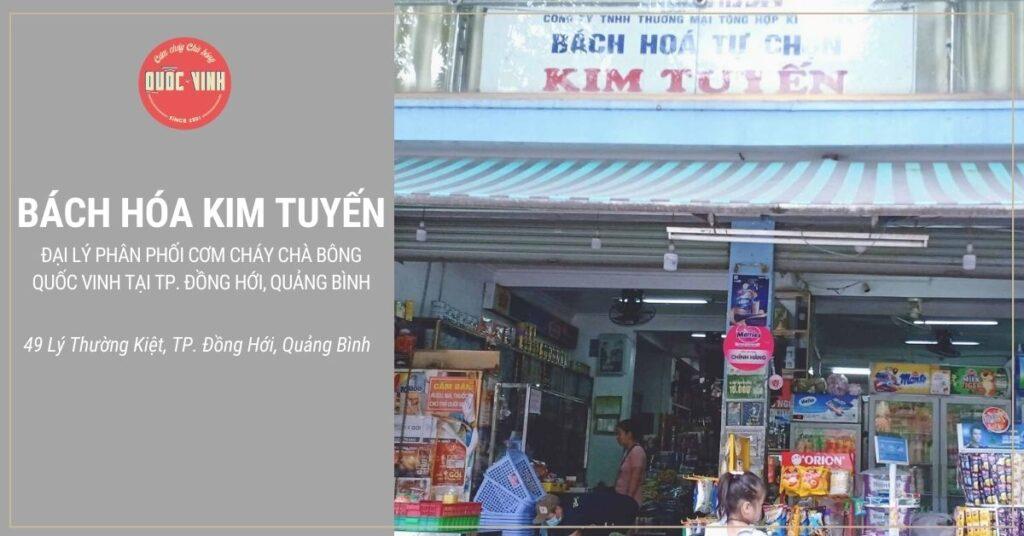 cơm cháy chà bông Quốc Vinh tại Đồng Hới, Quảng Bình