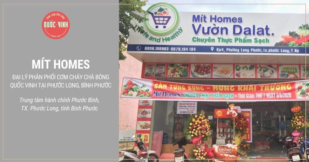 cơm cháy chà bông Quốc Vinh tại Phước Long, Bình Phước