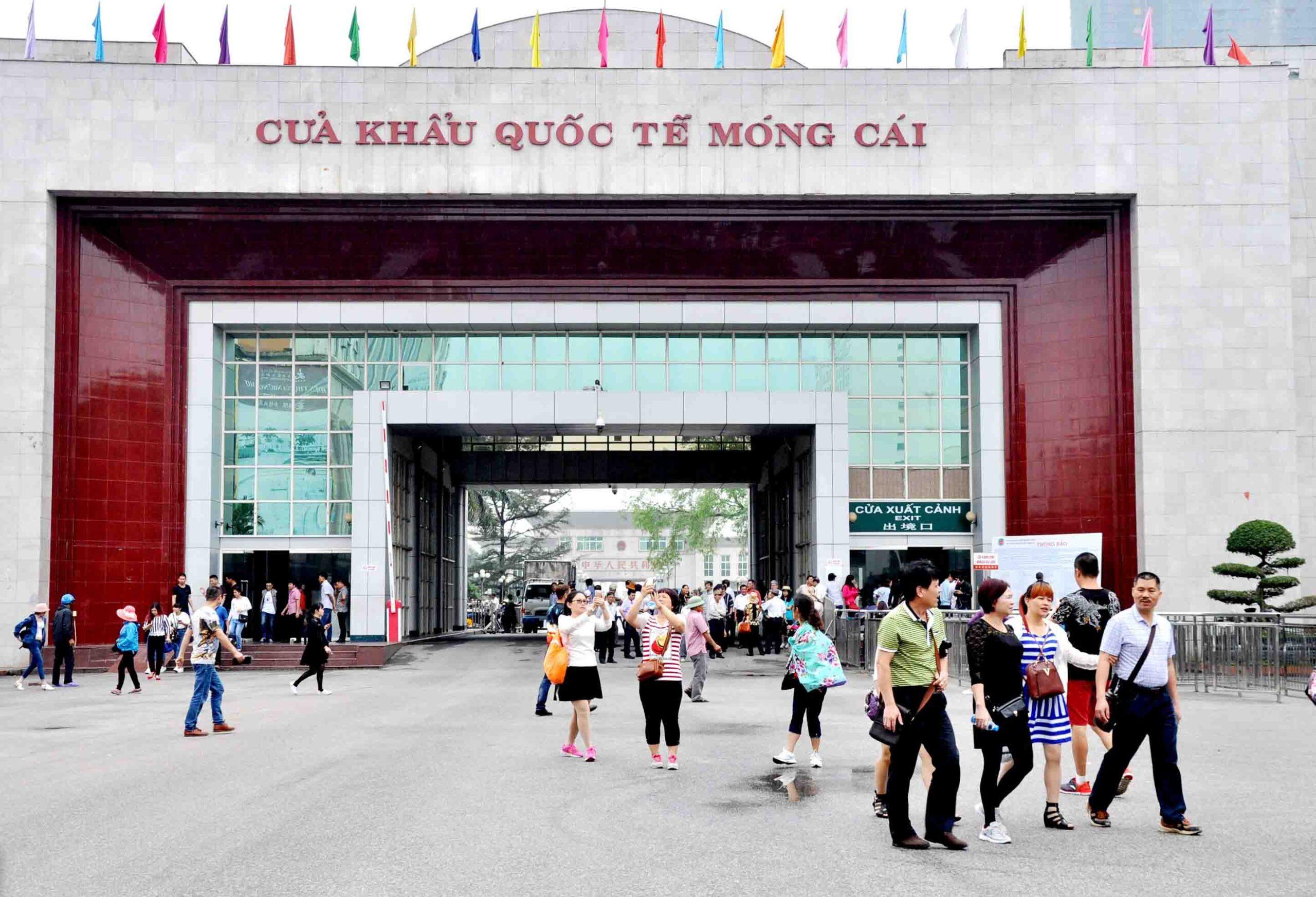 cửa khẩu Móng Cái