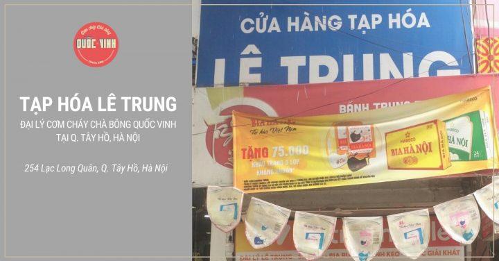 đại lý cơm cháy chà bông Quốc Vinh tại Q. Tây Hồ, Hà Nội