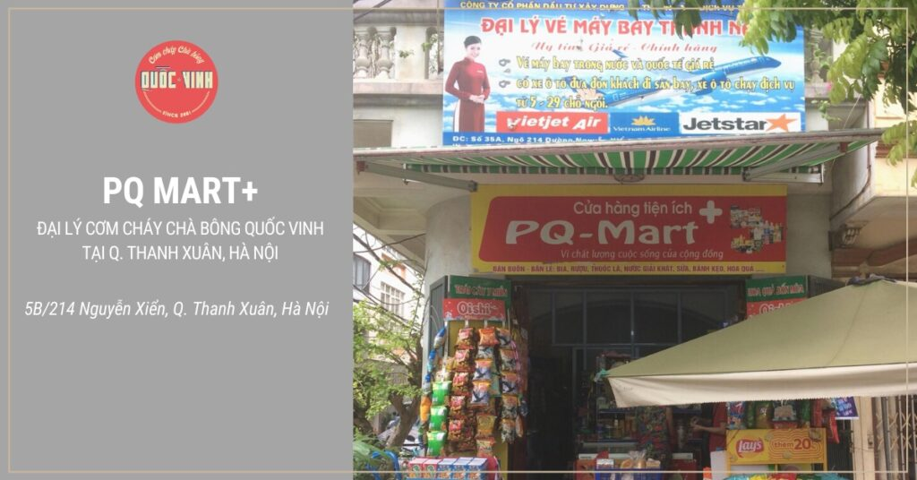 đại lý cơm cháy chà bông Quốc Vinh tại Q. Thanh Xuân, Hà Nội