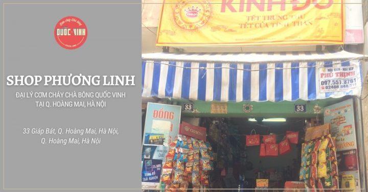 shop Phương Linh - đại lý cơm cháy chà bông Quốc Vinh tại Hà Nội