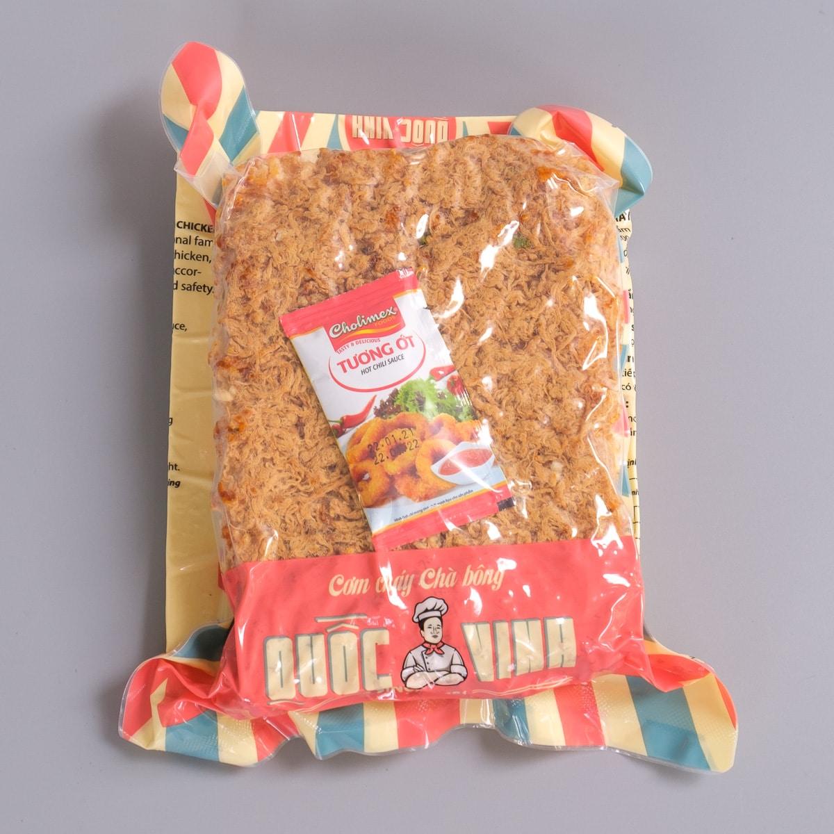 cơm cháy Quốc Vinh 250 gram