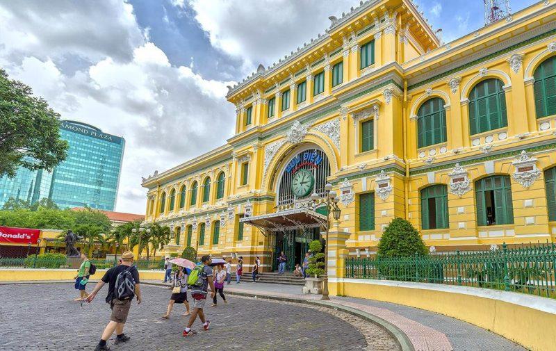 Bưu điện trung tâm TPHCM